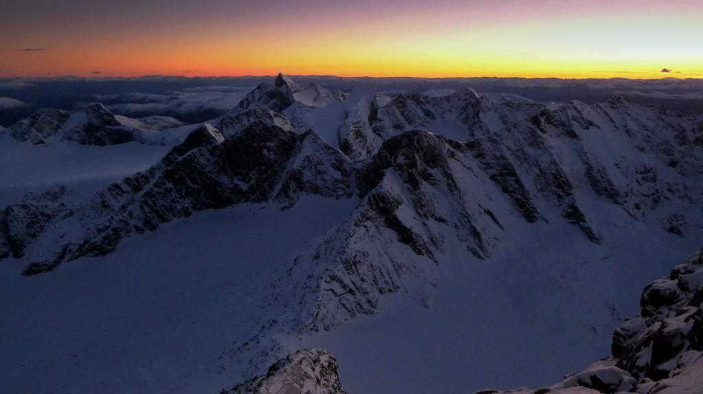 Alpin klatresamling i Tysfjord