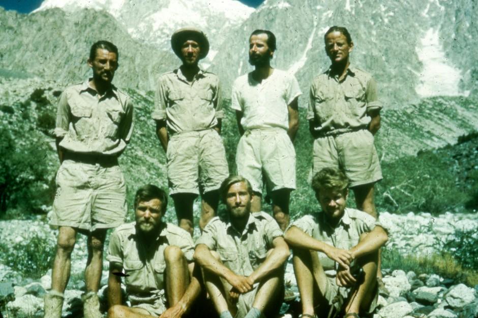 Førstebestigerne av Vesttoppen Tirich Mir-1950