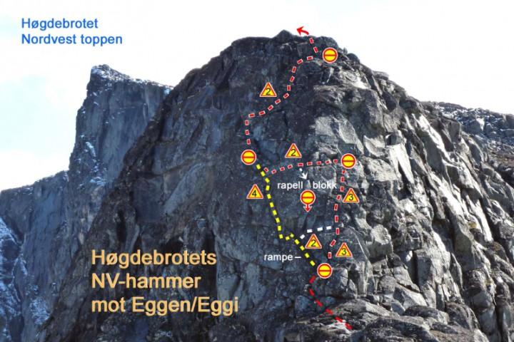 Nordvesthammerem Høgdebrotet