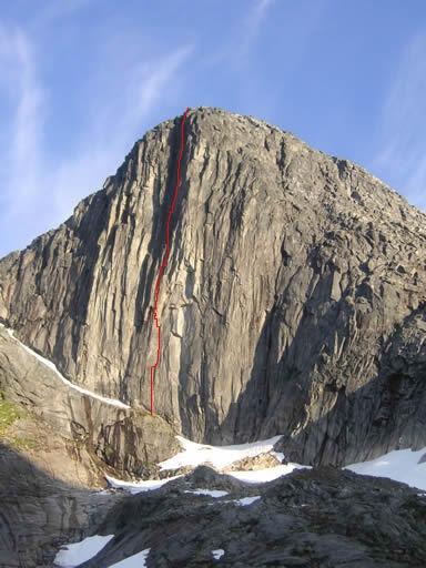 Tingeling (400m 7c+), Blåmann, Kvaløya, Norway Photo by Reinhard Fichtinger