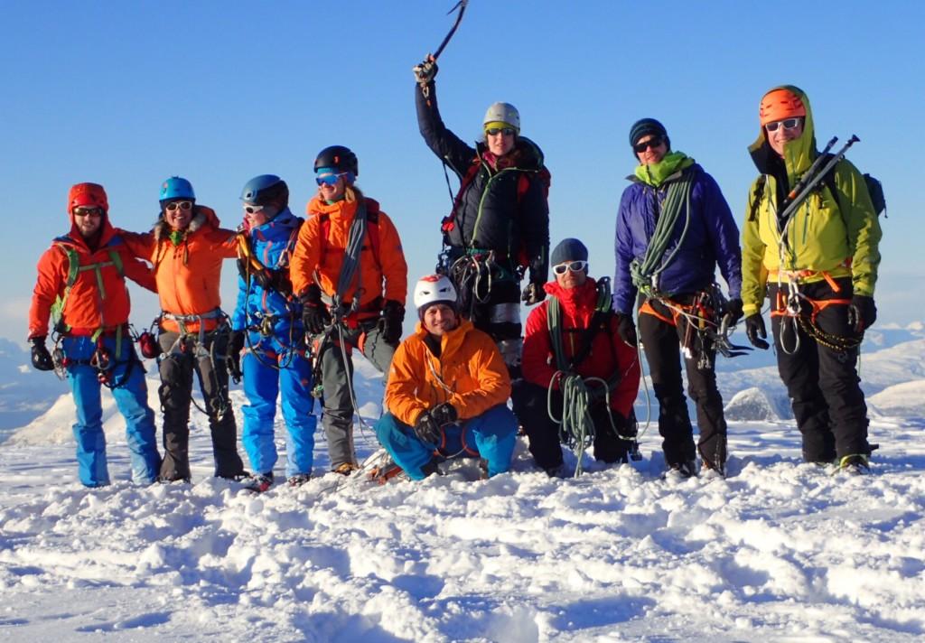 Alpin klatresamling i nord 22-25.februar 2018