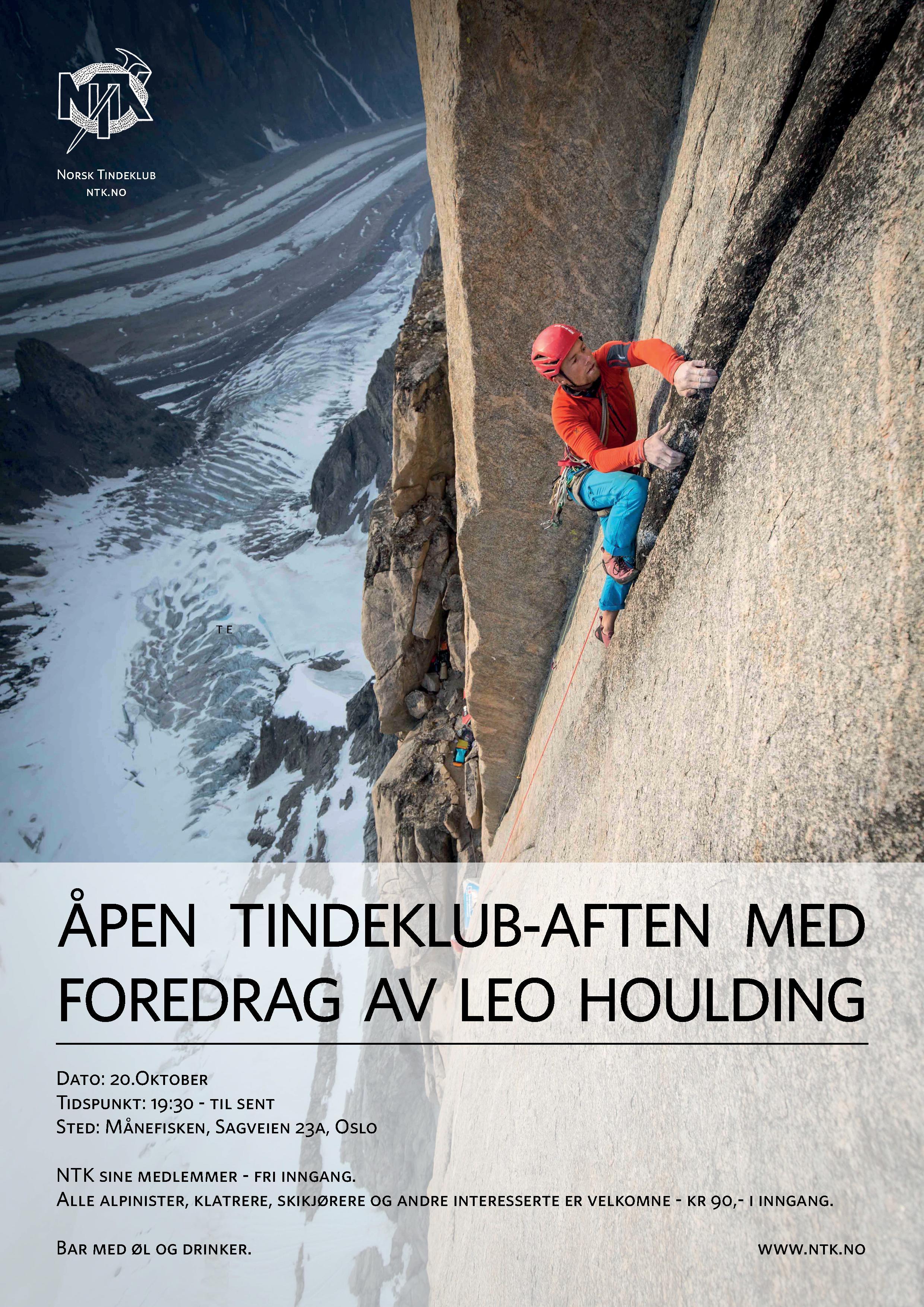Plakat Leo Houlding