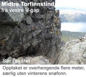 8 Torfinnstind Midtre opptak sør i vestre Vgap 6cm400pp tekst 02
