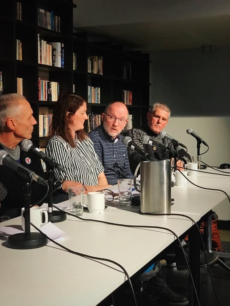 Paneldebatt på Litteraturhuset