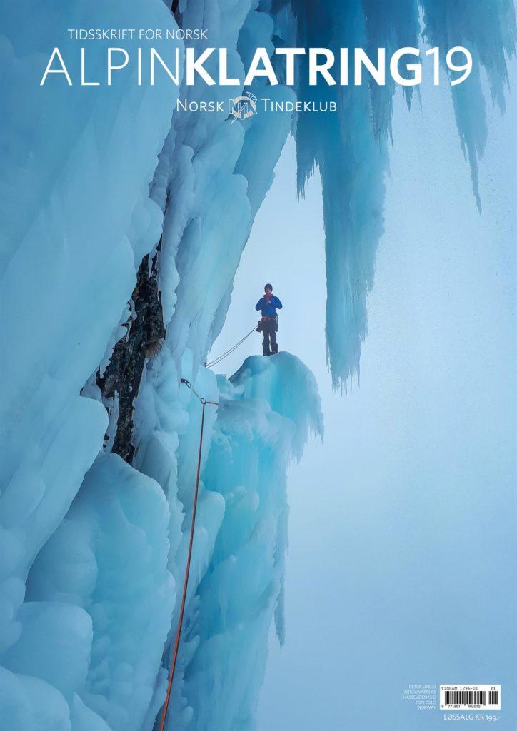 10 år med Tidsskrift for Norsk Alpin Klatring på Piteraq